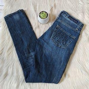 EUC Rock & Republic Berlin Skinny Jean Size 0